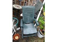 Green Garden Chairs