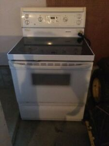 GE Electric Stove - Glass Top