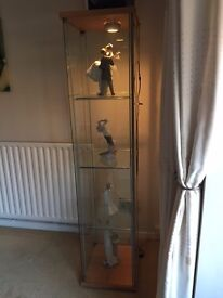 Lovely Display Cabinet with light
