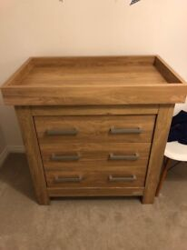 Bordeaux Style Cotbed & Chest of Drawers