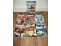 Bundle of 8 Top Gear DVDs