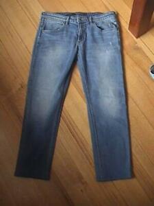 Men's Wrangler Denim Jeans Size 34