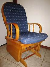 URGENT SALE Wooden Rocking Chair with Cushions Gordon Tuggeranong Preview