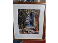 Large Limited Edition Framed Print by M. J. SANDERS