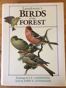 Lansdowne's Birds of the Forest -hardcover book with dustjacket.