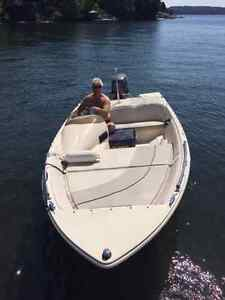 2006 GREW 156 BOWRIDER - LOW HOURS - YAMAHA 40HP 4 STROKE