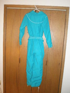 Ski or Snowboarder Suit Ladies size 12 one piece Outfit