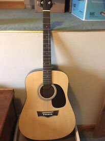 Guitar Acoustic, used once, excellent condition