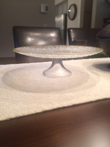Bling Wedding Cake Stands and/or Dessert Serving Plates