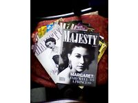 10 MAJESTY MAGAZINES - ROYAL MONTHLY - JOB LOT