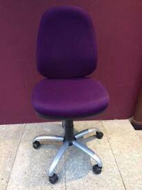 Steel frame operators chair