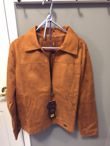 Brown Suede Jacket - Brand New