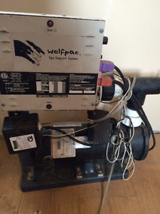2 Stage Hot Tub pump and heater