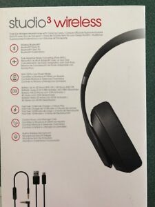 Beats Studio 3 wireless with noise cancellation