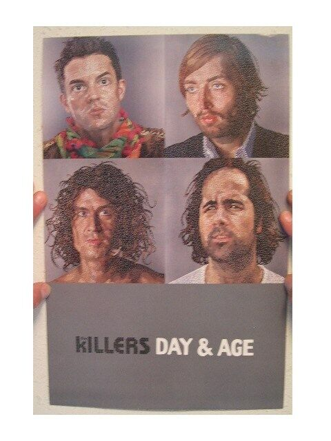 Killers 2 Sided Poster Day & Age The And