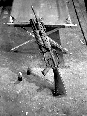 Vietnam 1970 - M16 Over/Under With M203 Grenade Launcher for sale  Utica