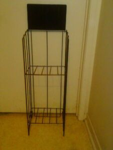 Black Wire Display Stand Rack