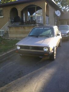 1984 VW Rabbit Convertible