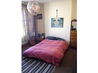 Looking for someone to rent my big room while I'm travelling for Aug and Sep. Sharing w/ one girl