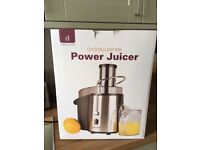 Power Juicer in its box