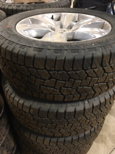 """New 20"""" take off tires, rims and sensors"""