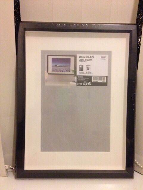 New Photo frames IKEA 30x40cm Black 40x50 white, 50x70cm black ...