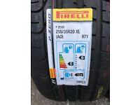 Brand new complete set of 4 pirelli p zero 255/35 R20