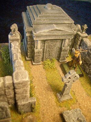 Crypt/Temple Unpainted Resin Thomarillion Terrain Dwarven Forge D&D