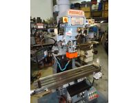 EXCEL PINNACLE MODEL PMTM-2V TURRET MILLING MACHINE