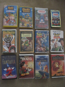Kids VHS movies and shows *Moving*
