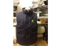 John Deere Bodywarmers and Hats for sale