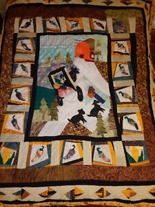 Quilts / Bedspread, Home Made, Titled Perspectives 1: Amish
