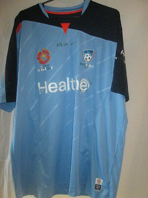 Sydney FC 2006-2007 Home Football Shirt Size Large /21041 image
