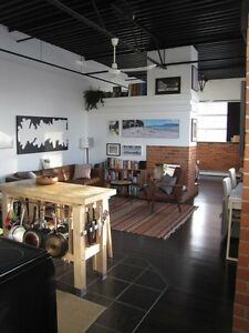 Great downtown ice district loft for rent Jan 1 $1550