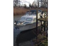 Elysian 27 foot mid cabinshaft drivenBoat