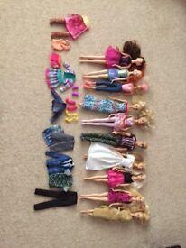 Various Barbies/Ken Dolls