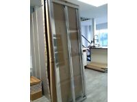 Shower Screen - Aquaglass + Drift Bifold Shower Screen BRAND NEW
