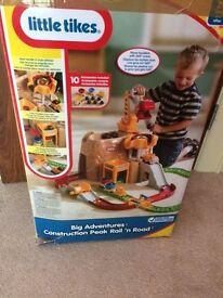 LITTLE TIKES CONSTRUCTION(AS NEW WITH BOX)