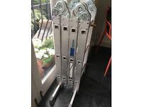 ABRU extendable aluminium ladders