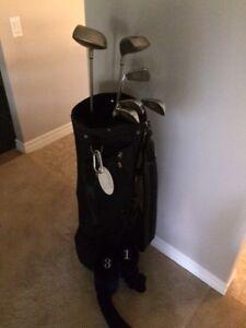 Kit de golf gaucher en graphite pour femme
