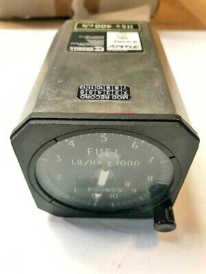 Aircraft Integrating Fuel Flow Indicator Gauge Series IV 6620-99-117-2770 EX-MOD