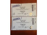 2 Band of Horses tickets