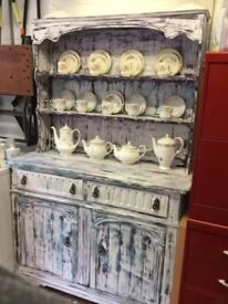 Shabby Chic Welsh Dresser Project!