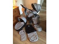 Oyster 2 Travel System - Push Chair / Carry Cot / Loads of Extras