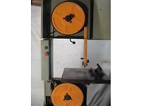 Startrite 352 bandsaw in excellent condition