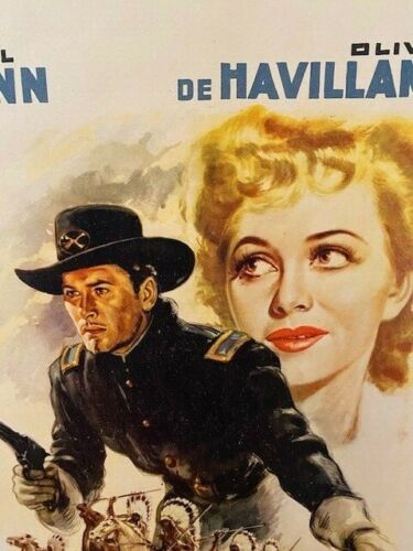 They Died With Their Boots On - 41 - Raoul Walsh - Errol Flynn - Very Rare!