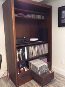 Large Record \ TV Cabinet