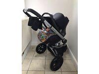 Quinny buzz 3 (4 in 1) Black Travel System
