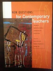 New Questions for Contemporary Teachers - Burnett, Meadmore, Tait Brookfield Brisbane North West Preview