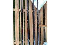 Daiwa Vertice 8ft Boat Rods x 4